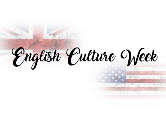I ENGLISH CULTURE WEEK